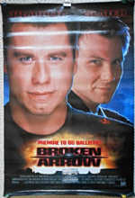 Broken Arrow, Original Movie Poster, John Travolta, Christian Slater, '96